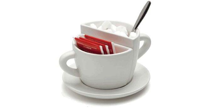 Coffee Break Split Sugar Bowl
