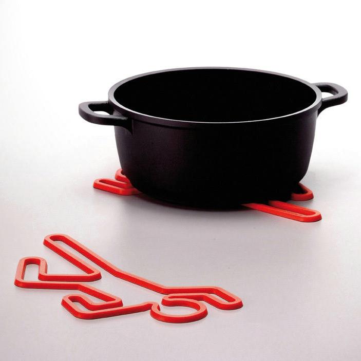 犯罪现场隔热垫/Crime Scene Hot Pot Trivet