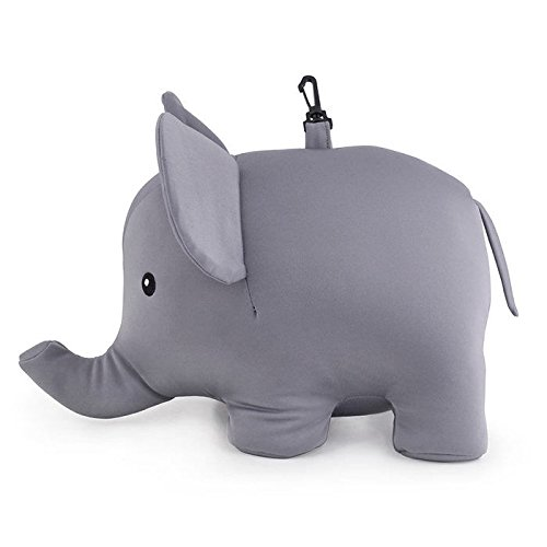Kikkerland 大象U型枕/Zip And Flip Elephant Pillow