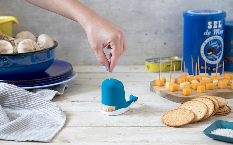 Peleg Design 鲸鱼牙签盒/Jonah Toothpick Dispenser