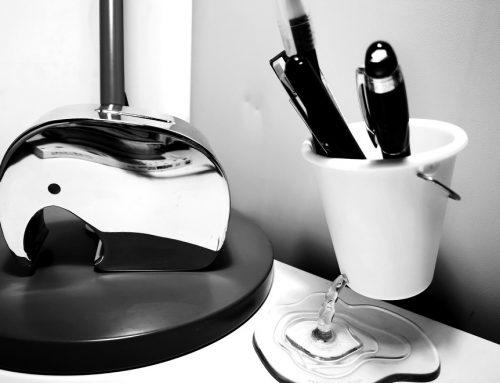买家秀:以色列设计 PELEG DESIGN 悬浮笔筒