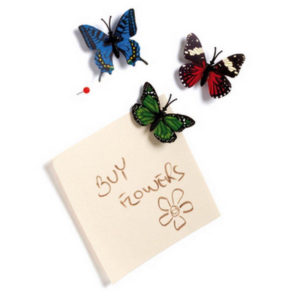蝴蝶图钉九件组-Butterfly push pins