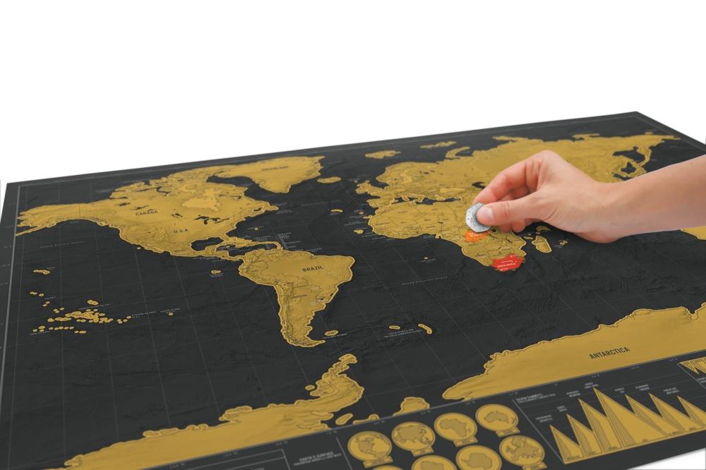 刮刮地图奢华版/Deluxe Map
