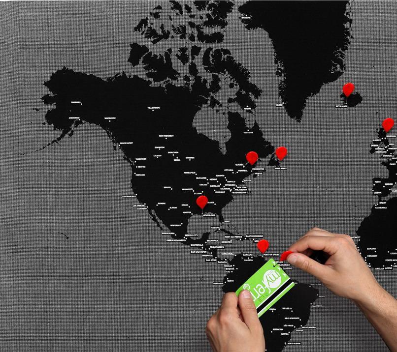 旅行图钉地图/PinWorld Maps