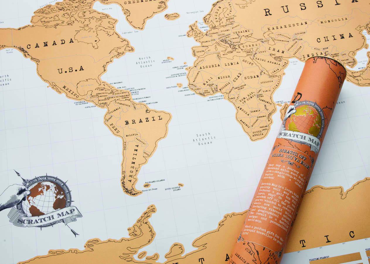 刮刮地图世界版/Scratch