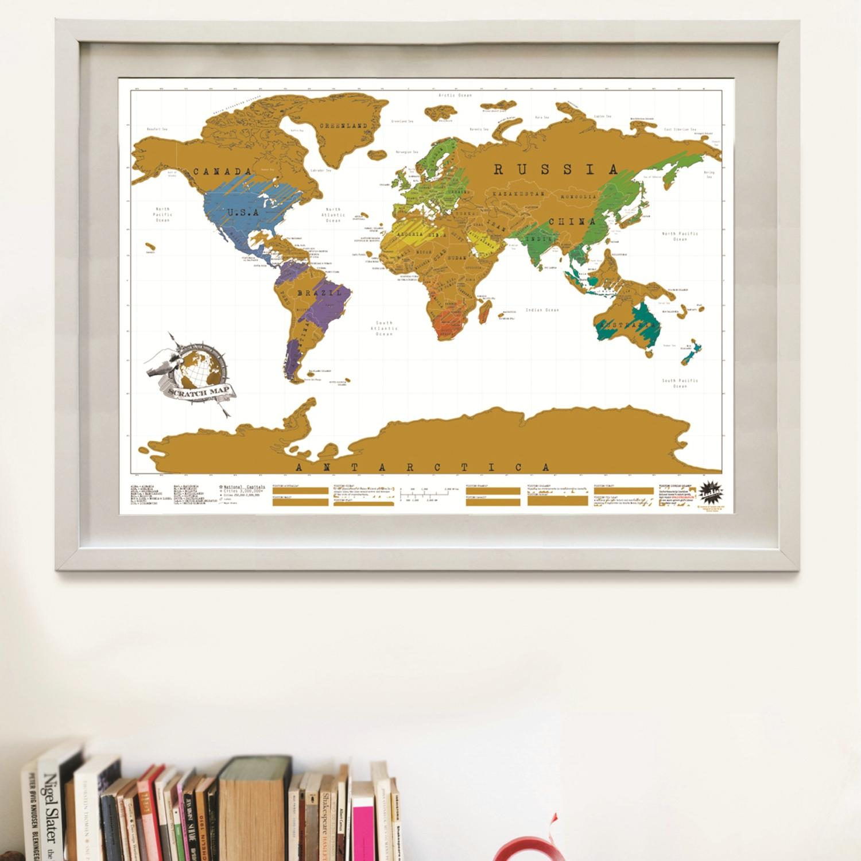 刮刮地图世界版/Scratch Map Original