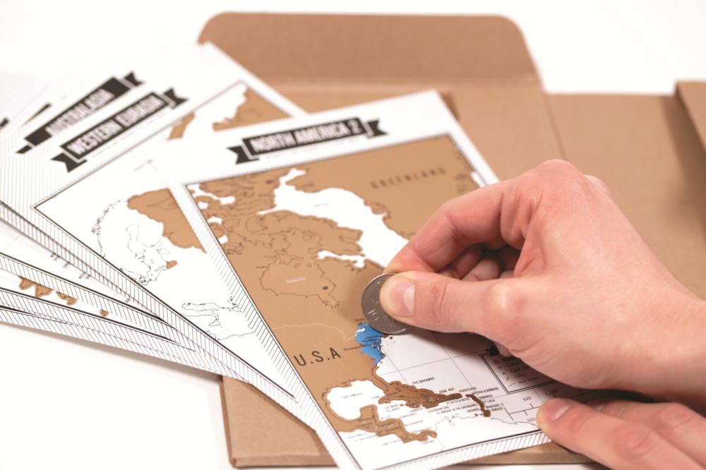 旅游刮刮日志/Travelogue Travel Journal