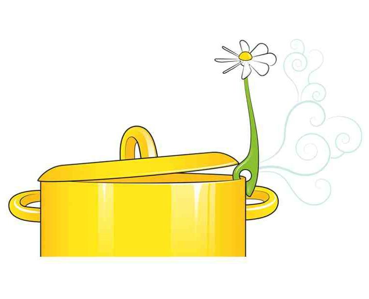 花儿动力蒸汽散热器/Flower Power