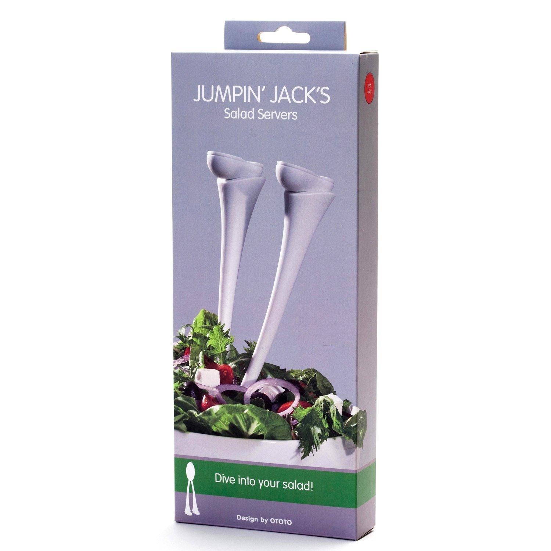 长腿汤匙二件装/Jumpin' Jack salad servers