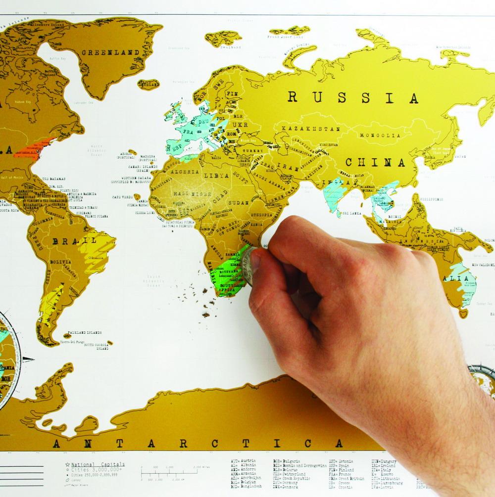 刮刮地图旅游版/Scratch Map Travel