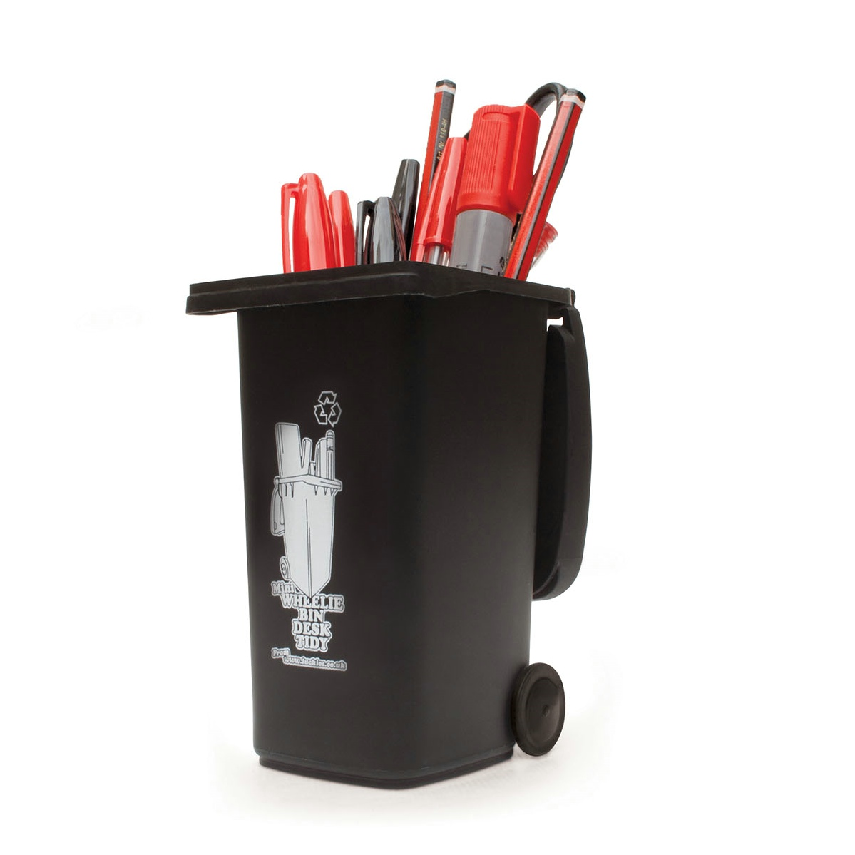 垃圾桶收纳笔筒/Wheelie Bin