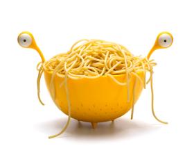 Ototo Design 怪兽沥水篮/Spaghetti Monster 怪物意粉碗