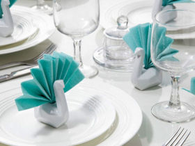 Peleg Design 天鹅餐巾纸架/Napkin Swan