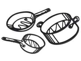 Peleg Design 素描隔热垫/Sketch Trivet