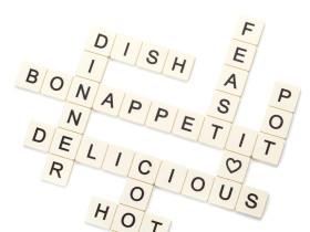 Peleg Design 英文填字游戏游戏餐桌隔热垫/Subtext