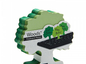 Peleg Design 创意大树森林键盘便条贴便签本N次贴 Woods