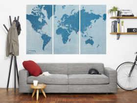 Palomar 旅行图钉世界地图套装/PinWorld Maps