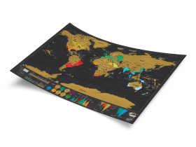 Luckies 刮刮世界地图奢华版/秀秀地图 创意礼品/Deluxe Map - 小号