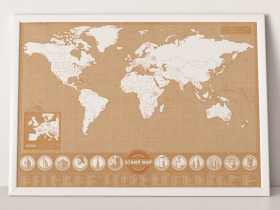 Luckies 印章地图/Stamp Map
