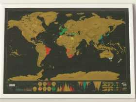 Luckies 刮刮地图奢华版/Deluxe Map