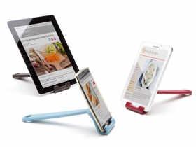 PELEG Desgin 厨房平板支架/Cooklet 菜谱手机支架挂钩支架