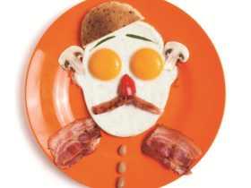Monkey Business 小丑脸形煎蛋器/Gregg's Fried Eggs Shaper