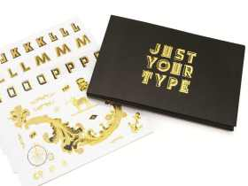 Luckies 个人时尚贴纸专辑/Just Your Type 创意个性贴纸标志