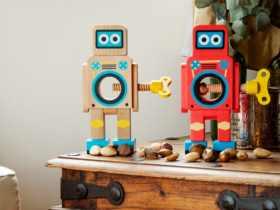 Suck UK 机器人胡桃夹子Robot Nut Cracker 坚果夹子 开核桃