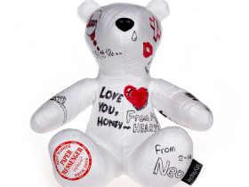 Stylepie 创意动物信使 DIY涂鸦小熊 Paper Messenger Bear