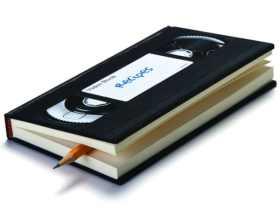 PELEG DESIGN 录像带笔记本/VIDEO NOTEBOOK 创意复古时尚文具