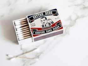 Peleg Design 旧盒棉签收纳盒/Cotton Ear Joe