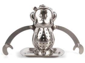 Kikkerland 猴子泡茶器/Monkey Tea Infuser