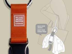 ALife 创意夹克衣物旅行捆绑带 Jacket Gripper