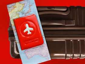 ALife 飞机造型护照夹 快乐旅行护照套/Passport Cover