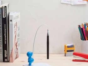打造您的创意办公桌之备忘录架