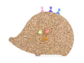 Kikkerland Hedgehog Corkboard Magnet