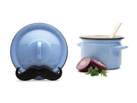 Monkey Business Mario-Pot lid holder