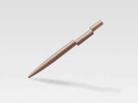 英国Beyond Object铝制错位圆珠笔/Align – Twist Ballpoint Pen