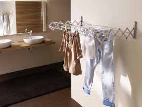 Wall clothes racks