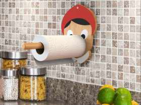 Artori Design Naughty Boy – Kitchen Paper Towel Holder
