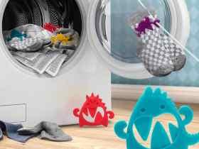 Ototo Design 怪兽袜子锁/Sock Monsters-Sock Locks