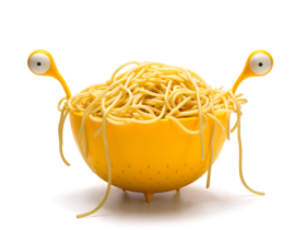 OTOTO Design 怪兽沥水篮/Spaghetti Monster 怪物意粉碗