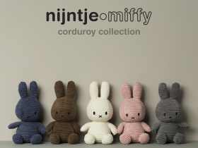 Miffy 米菲兔玩偶/Miffy Sitting Corduroy