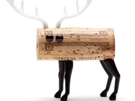 Monkey Business DIY红酒木塞装饰 小鹿款/Corkers Deer